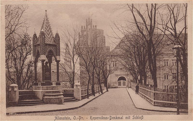 Olsztyn z pomnikiem Mikołaja Kopernika. Źródło: http://www.skyscrapercity.com/showthread.php?t=518725&page=4