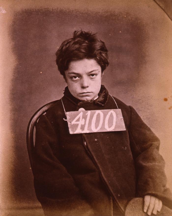 Młody angielski złodziej rok 1872. Źródło: https://flic.kr/p/5xdyxA