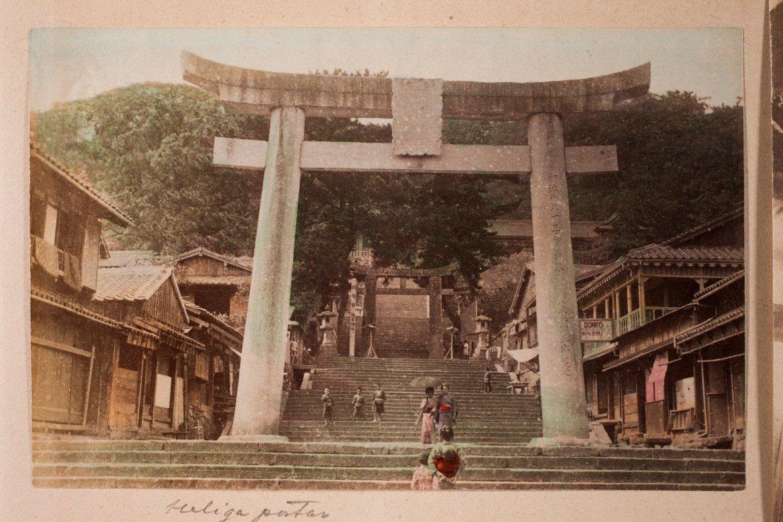 Świątynia w Nagasaki. Źródło: https://flic.kr/p/uk3Yf4