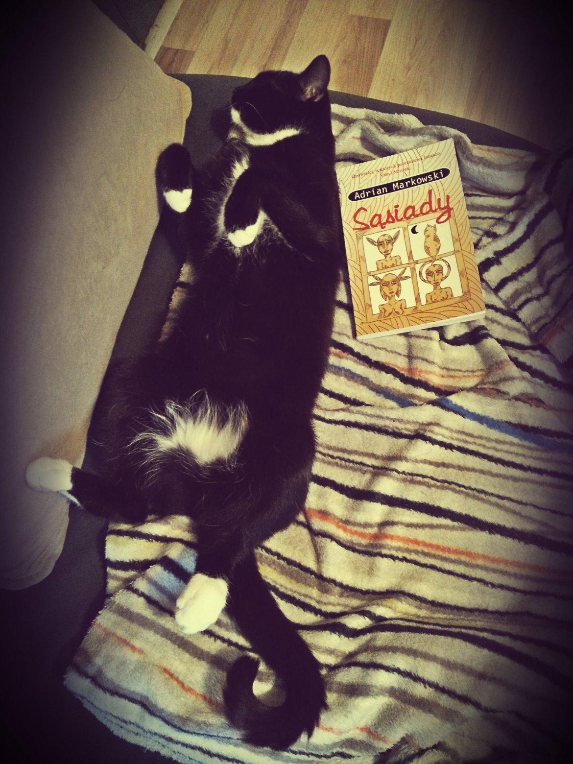 Kiki po lekturze musiała odpocząć.