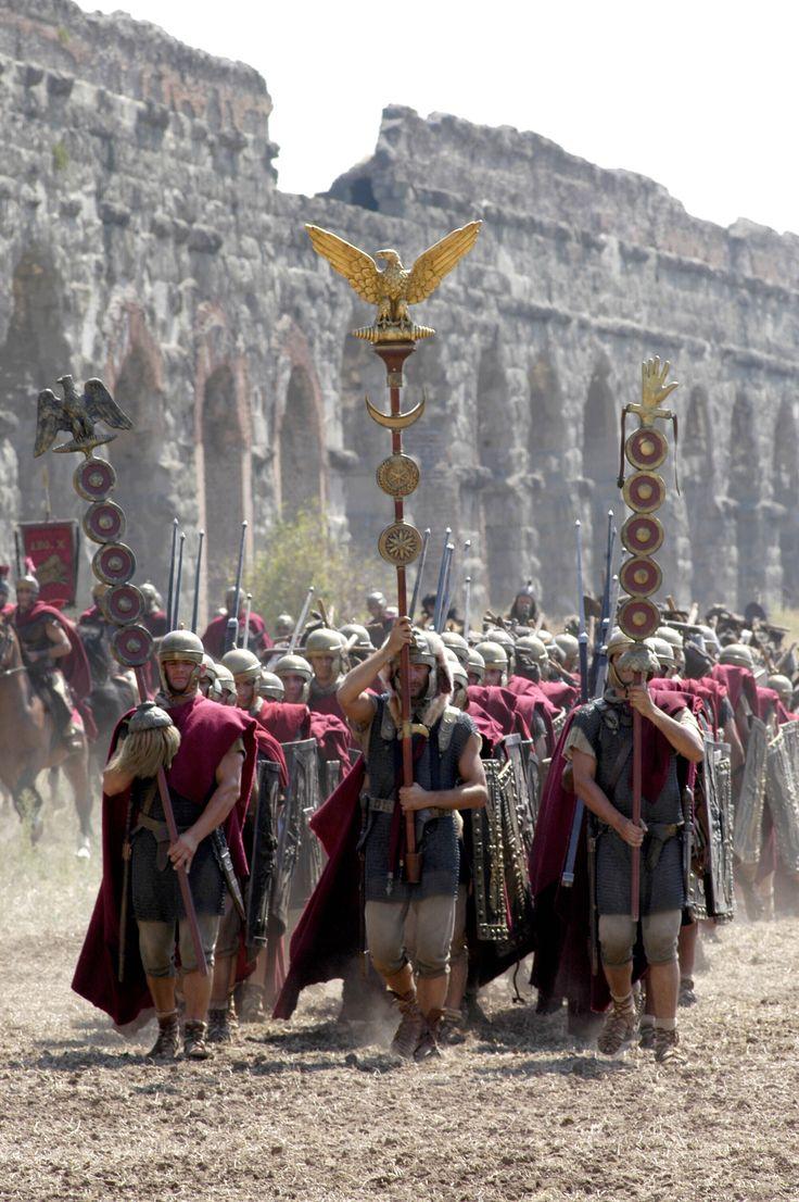 Legioniści z serialu Rzym. Źródło: pinterest.com