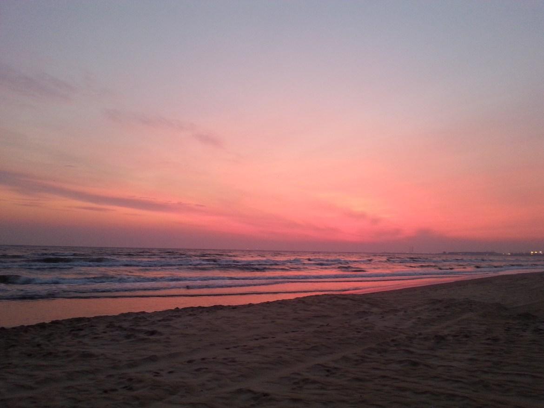 Przed wschodem słońca. Zdjęcie moje.