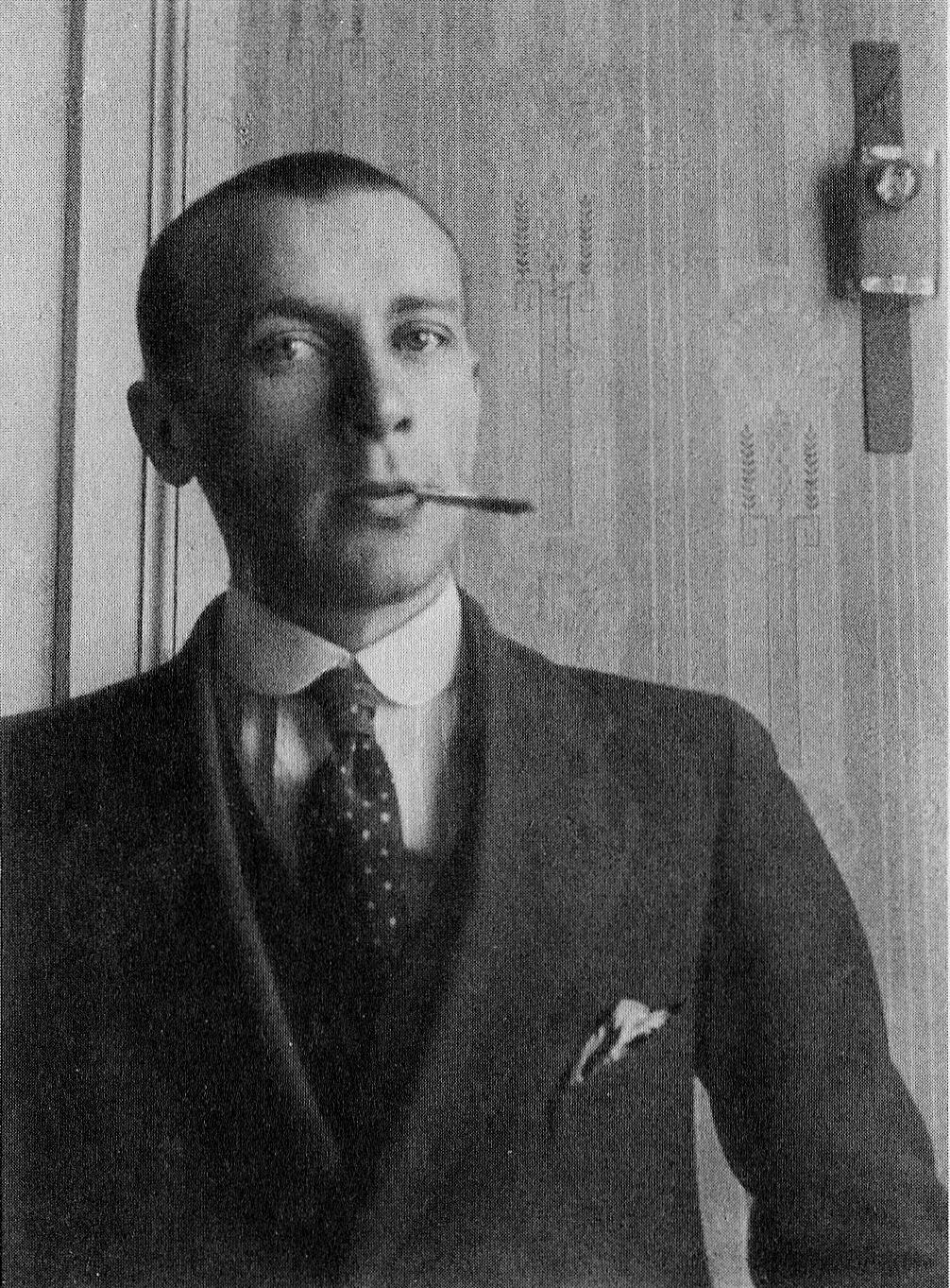 Bułhakow około 1910 roku.