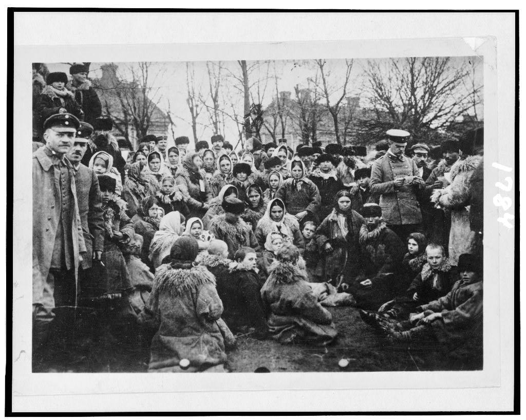 Uchodźcy (słowo ostatnio na topie). Źródło: http://www.loc.gov/pictures/resource/cph.3d01784/