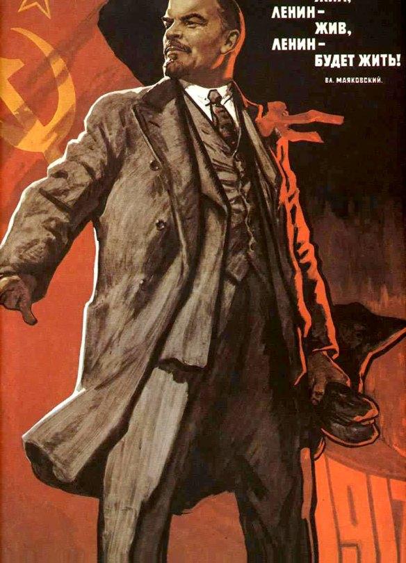 Plakat z Wielkim Wodzem. Źródło: https://flic.kr/p/6NVyMz