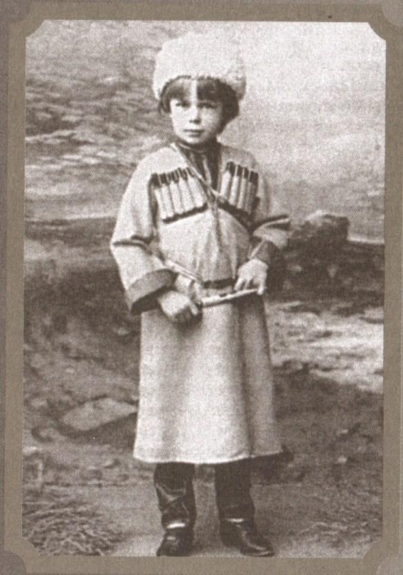 A tutaj Krwawy Baron w całej swej dziecięcej niewinności. https://pl.wikipedia.org/wiki/Roman_von_Ungern-Sternberg