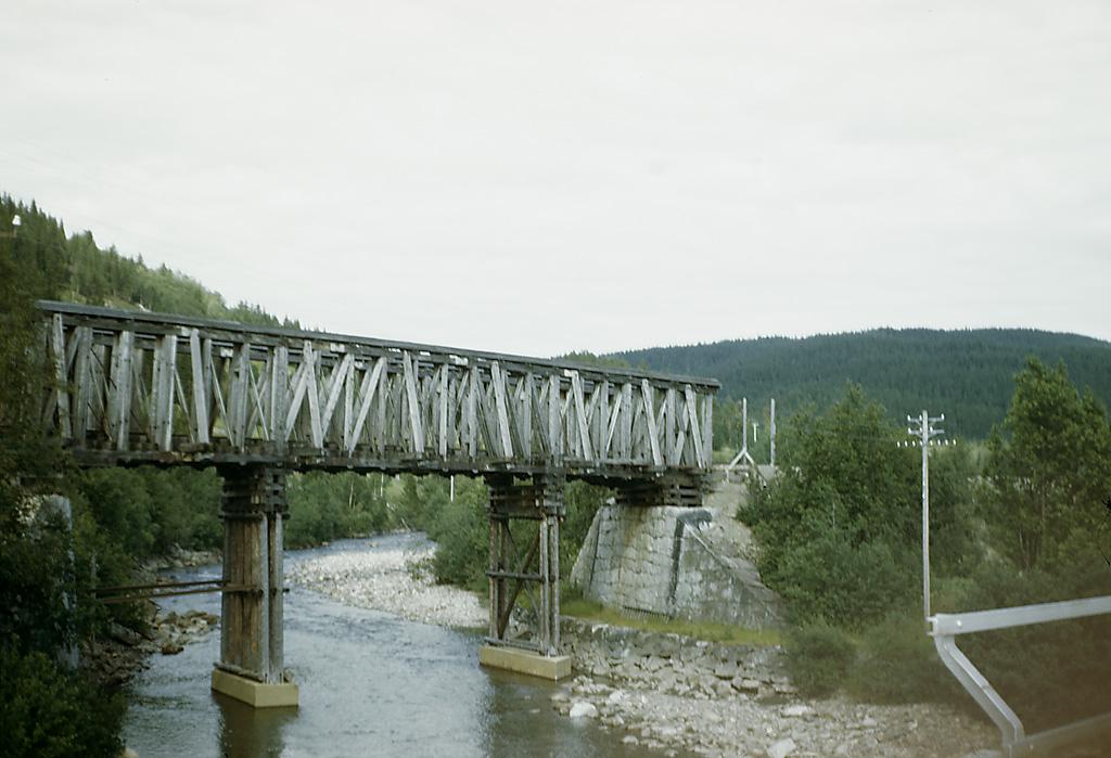 Miljöer-Flodlandskap, Byggnadsverk-Kommunikationsväsen-Järnvägsanläggning