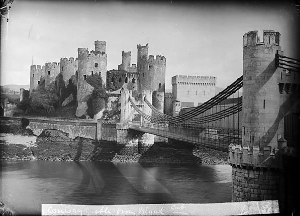A tu zamek w Conwy. Mój ulubiony. Źródło: https://flic.kr/p/6P6xNd