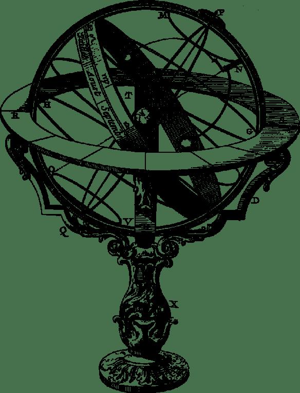 To jest sfera armilarna.