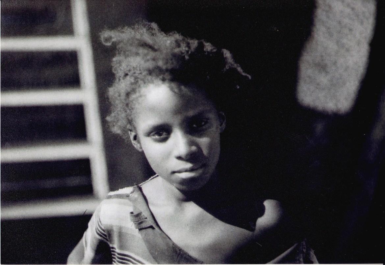 To jest Haanah - dziewięciolatka z jednej z etiopskich szkół na południu. Bardzo bystra i przesprytna dziewczyna.