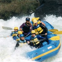 Little Woman in Big Whitewater