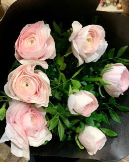 Bouquet de renoncules du var, en livraison sur Orléans