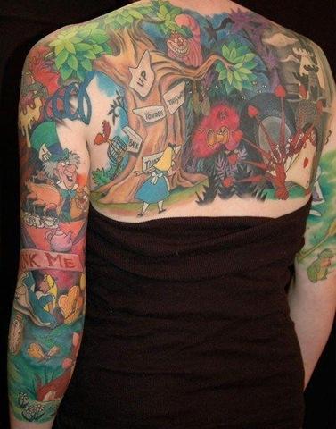 Tatuagens Disney (1/6)