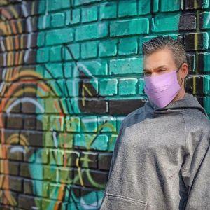 Цветни маски с джоб