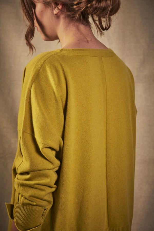 Charl Knitwear Sparrow boat neck cashmere jumper