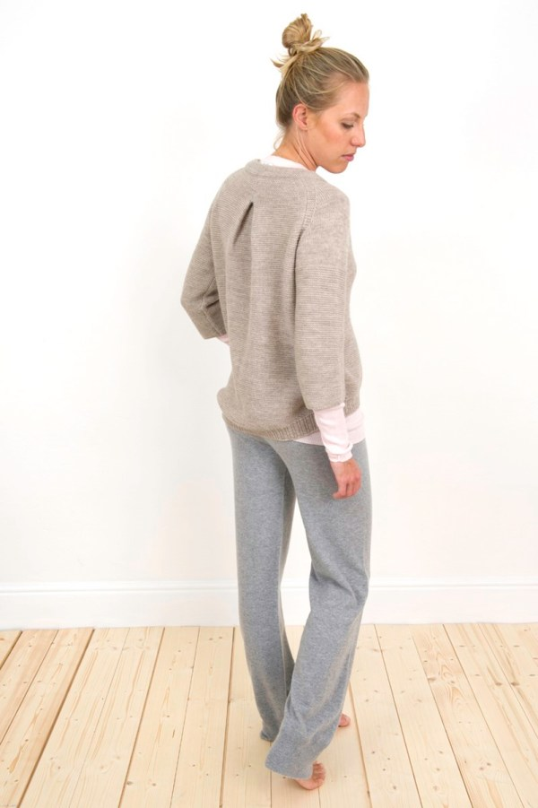 Charl Knitwear Cashmere knitted jogging bottoms
