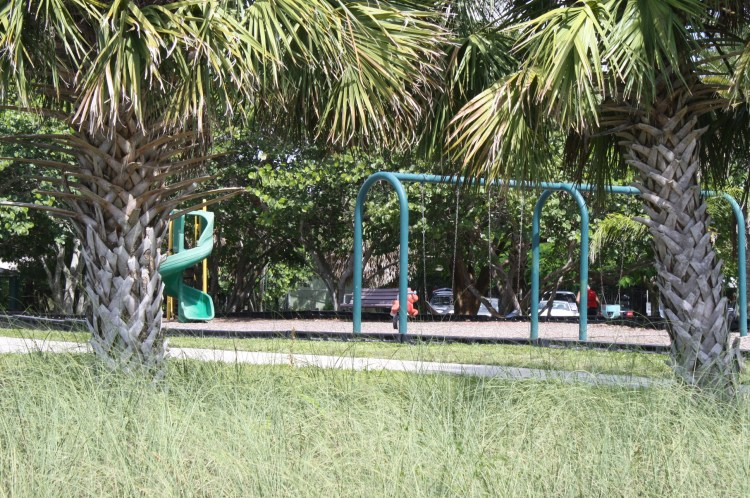 Playground at Pone de Leon Park