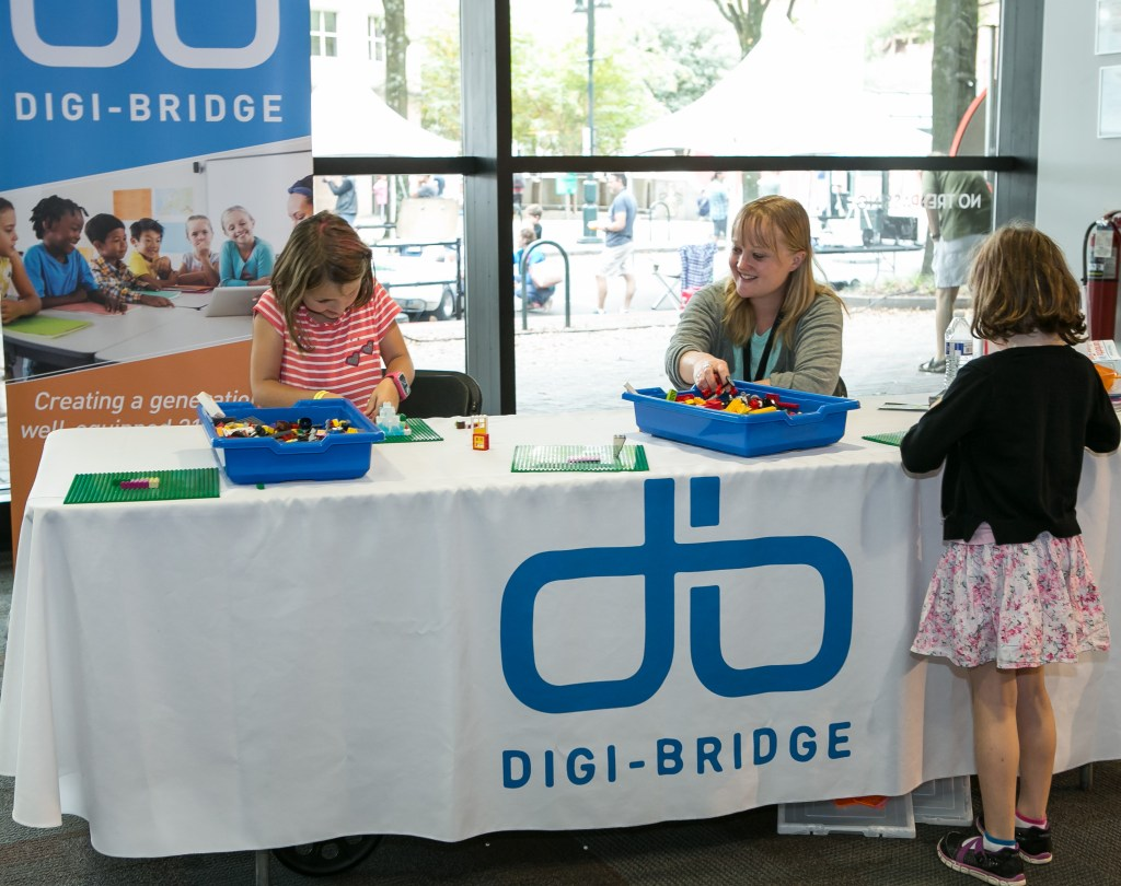 Digi-Bridge at Charlotte Mini Maker Faire