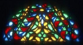 Traditional stained glass window, Sanaa, Yemen