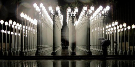 Urban Light, Los Angeles County Museum of Art, LACMA