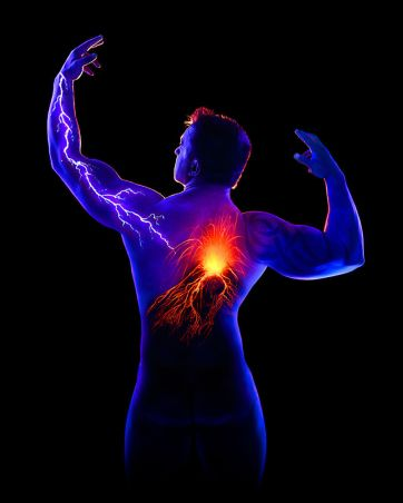 John Poppleton Body painting