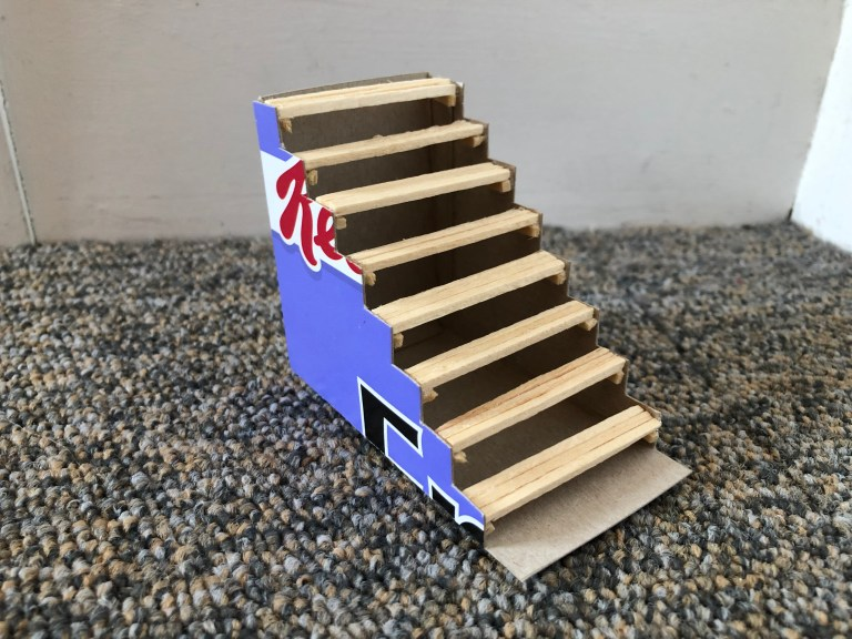Week 4: Making Popsicle Stick Stairs
