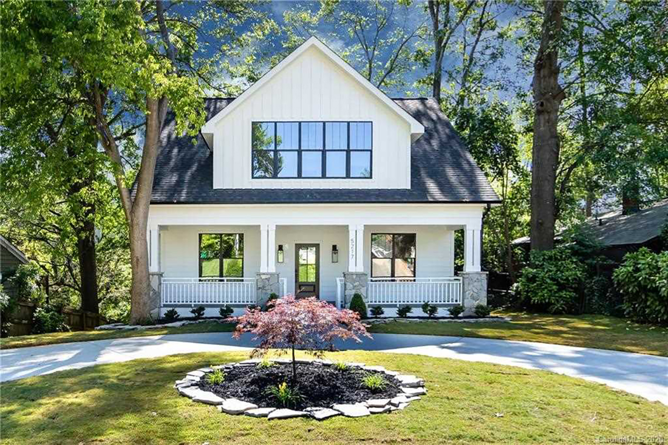 Hot Homes 10 Houses For Sale In Charlotte With Great Front Porches Charlotte Agenda