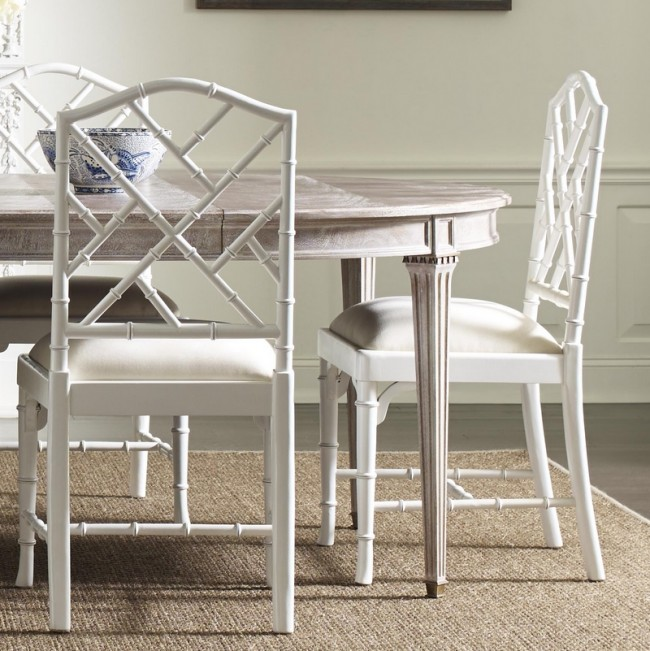 Charlotte Chinese Chippendale Dining Chairs
