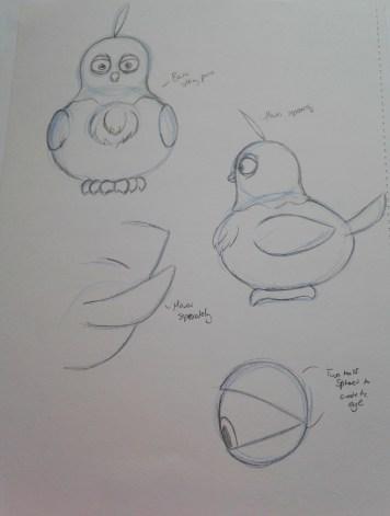 Mama Bird final design