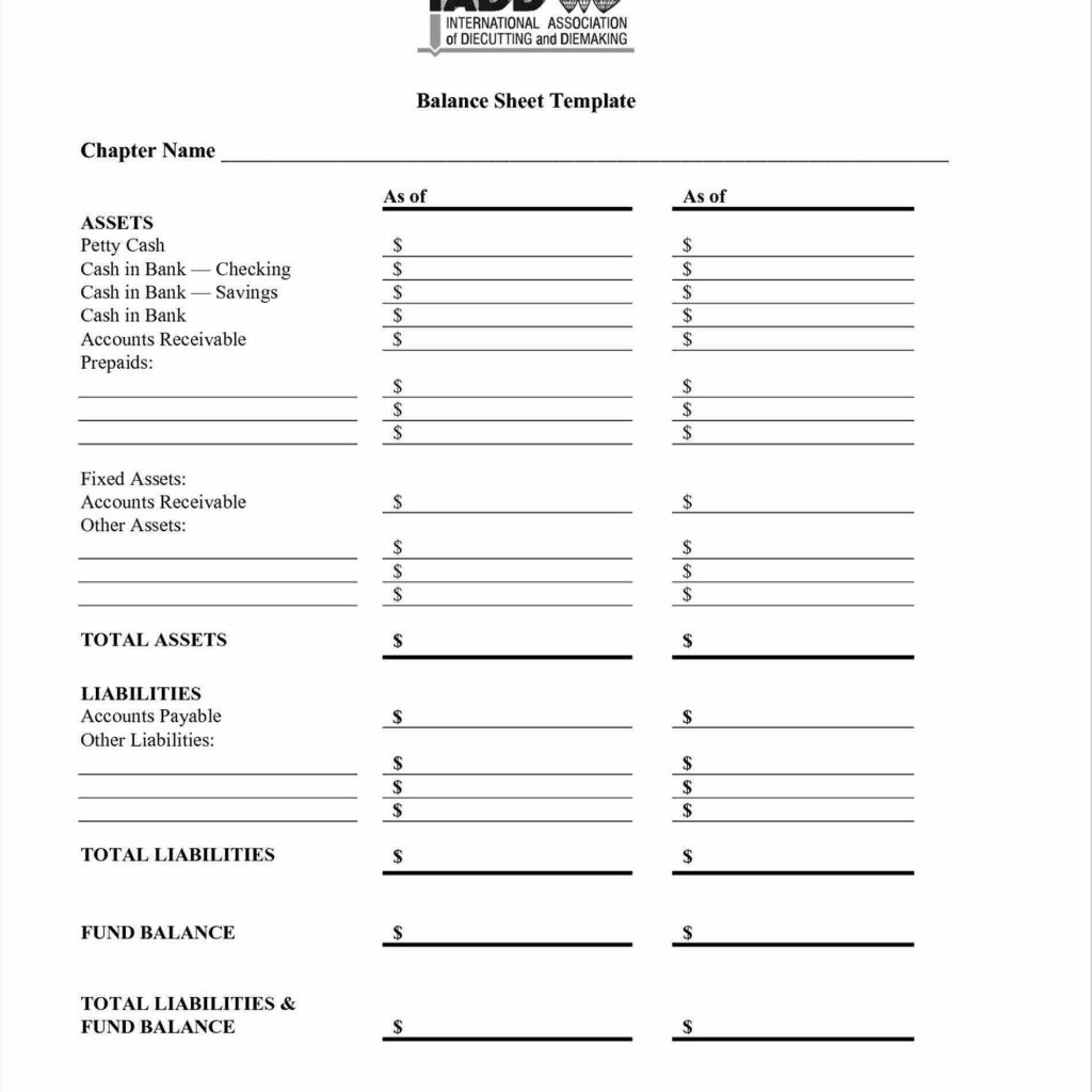 Cash Register Balancing Sheet