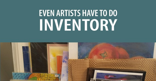 Even Artists Have to do Inventory