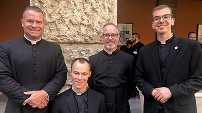 Michael Carlson ordained transitional deacon in Rome