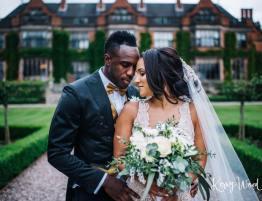 Footballer wedding