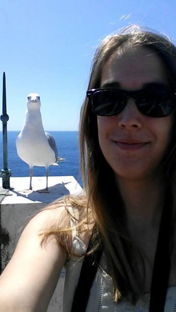 Selfie Mouette