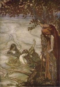 The Rhine Maidens - Nixie - warn Seigfried