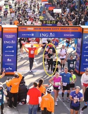 END ING New York Marathon 2011 - Highlighted