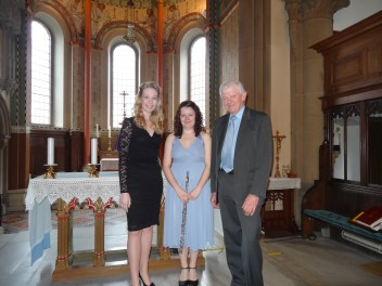 Me, Elizabeth Lawton and Russel Lomas - Preston 2014