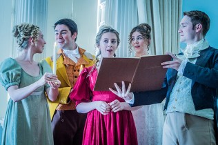 Mansfield Park - Jonathan Dove - Waterperry Opera Festival - 17th August 2018Director/Designer - Rebecca MeltzerMusical Director - Ashley BeauchampMaria Bertram - Charlotte HoatherJulia Bertram - Sarah Anne ChampionAunt Norris - Andrea TweedaleMar