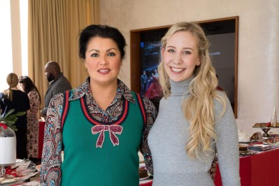 Me With Anna Netrebko Photo Taken By Jenny Gorman ( Met Opera )