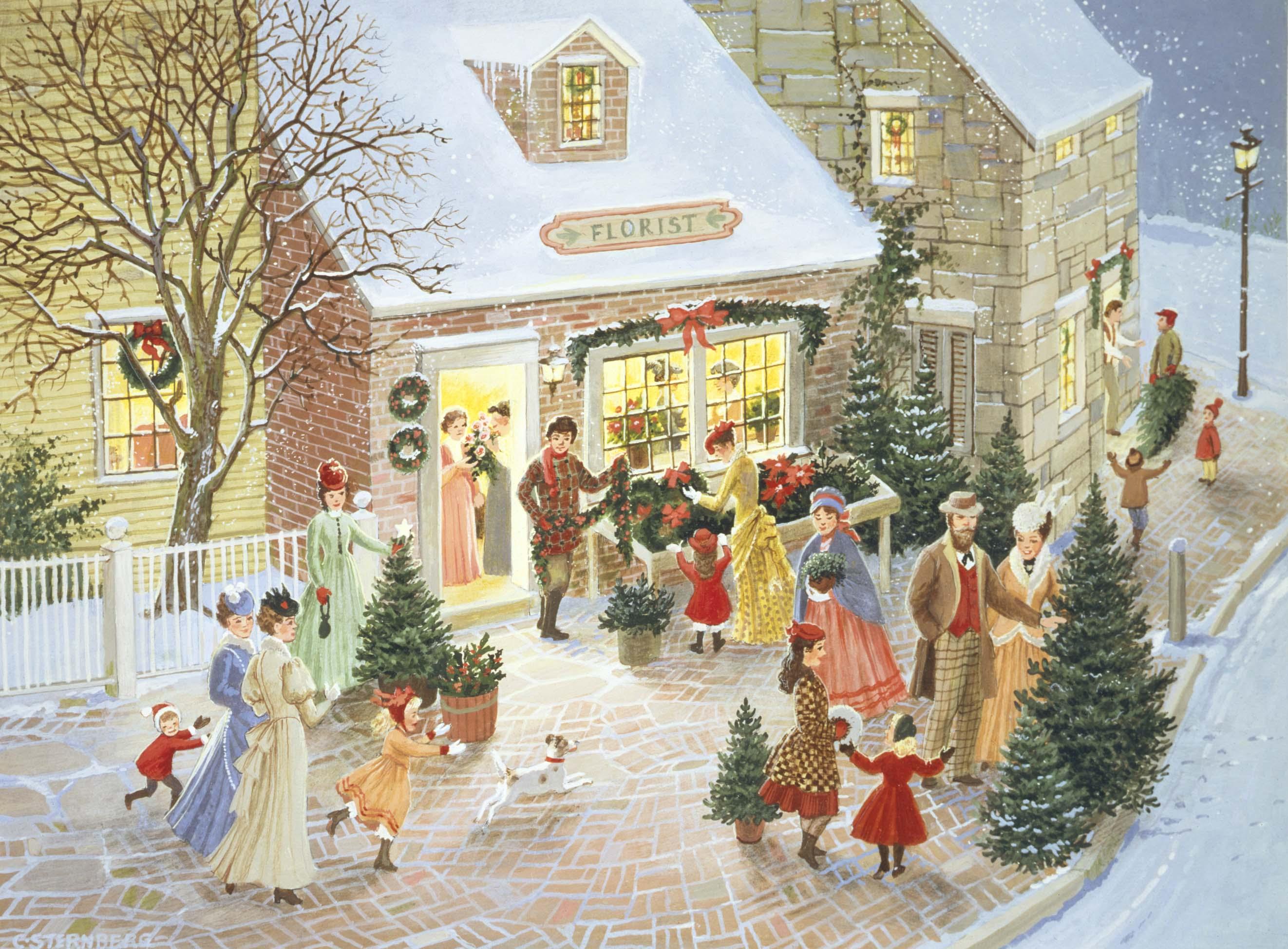 Christmas Charlottejoansternbergbackstory