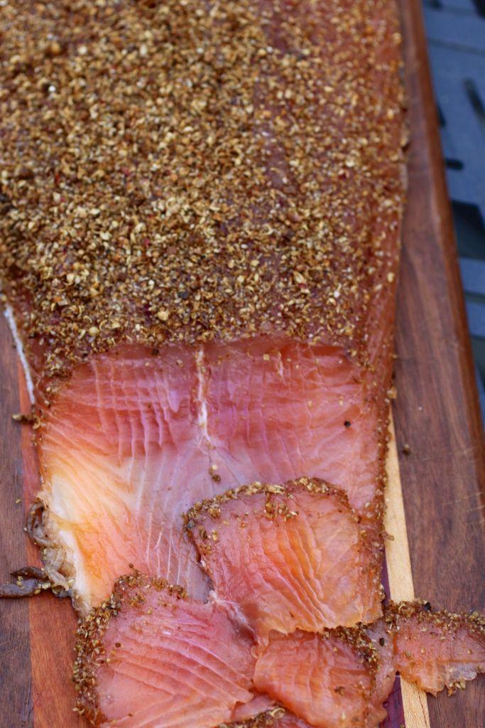Blantyre Resort pastrami salmon