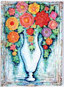 Charlotte_Olsson_Art_Konst_ flowers_painting_colorful_swedishdesign_interior_artist