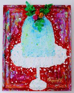 Charlotte_Olsson_Art_cake_painting_upcyclingart_recyclingart_swedishart_interior_vernissage