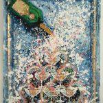 Charlotte_Olsson_Art_champagne_artlovers_konst_swedishart_happy