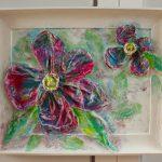 """""""Velvet Poppy"""" 49x61 cm"""
