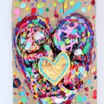 charlotte_olsson_art_design_pattern_swedishart_champagne_recyclingart_silk_exclusive_original_painting_heart_love_gold_inredning_inspiration