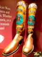 These boots, worn by Buffalo Bill himself, are the coolest boots I have ever seen. Respect! (To be seen in the Buffalo Bill Museum)