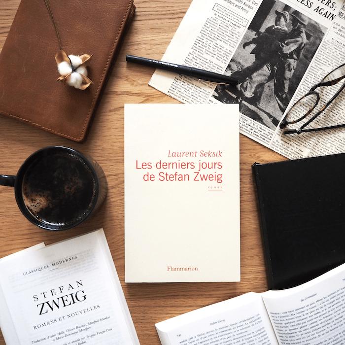 Les derniers jours de Stefan Zweig – Laurent Seksik