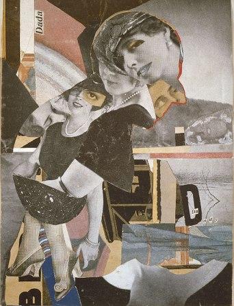 Da Dandy (1919) by Hannah Hoch