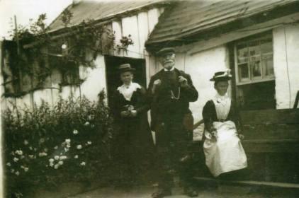 Kate, James and Jessie Downie